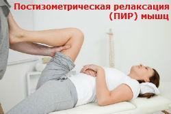 Постизометрическая релаксация (ПИР) мышц Киев