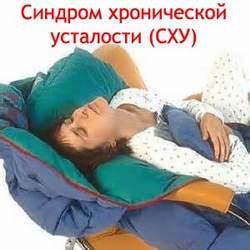 Синдром хронической усталости (СХУ) Лечение Киев